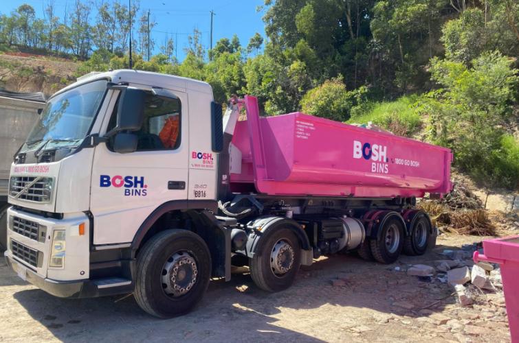 Bosh Bins Truck